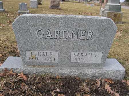 GARDNER, SARAH L. - Union County, Ohio   SARAH L. GARDNER - Ohio Gravestone Photos