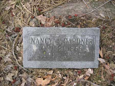GARDNER, NANCY A. - Union County, Ohio   NANCY A. GARDNER - Ohio Gravestone Photos