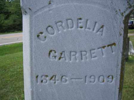 GARRETT, CORDELIA - Union County, Ohio   CORDELIA GARRETT - Ohio Gravestone Photos