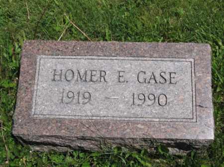 GASE, HOMER E. - Union County, Ohio | HOMER E. GASE - Ohio Gravestone Photos