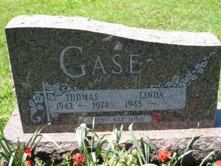 GASE, LINDA - Union County, Ohio | LINDA GASE - Ohio Gravestone Photos