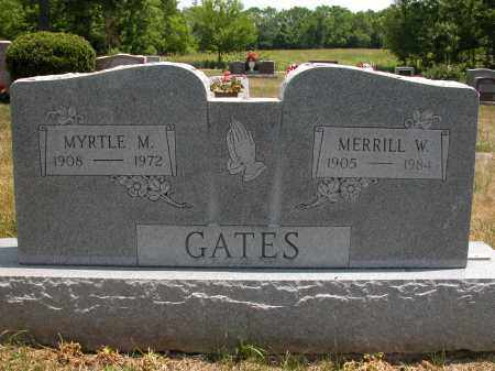 GATES, MERRILL W. - Union County, Ohio | MERRILL W. GATES - Ohio Gravestone Photos