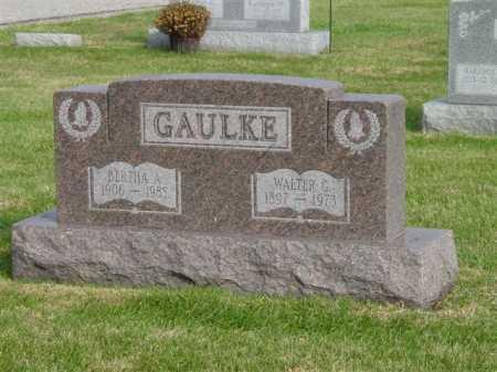 GAULKE, WALTER G. - Union County, Ohio | WALTER G. GAULKE - Ohio Gravestone Photos