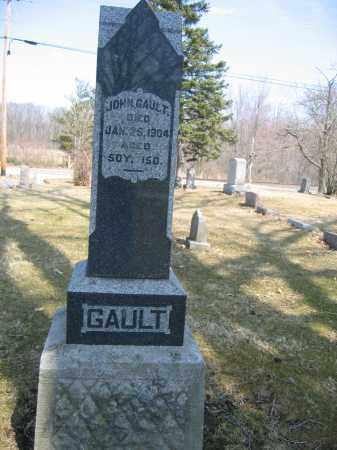 GAULT, SARAH M - Union County, Ohio | SARAH M GAULT - Ohio Gravestone Photos