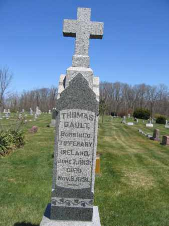 GAULT, THOMAS - Union County, Ohio | THOMAS GAULT - Ohio Gravestone Photos