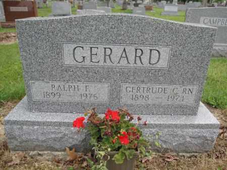 GERARD, GERTRUDE CAMPBELL - Union County, Ohio | GERTRUDE CAMPBELL GERARD - Ohio Gravestone Photos
