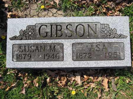 GIBSON, SUSAN M. - Union County, Ohio | SUSAN M. GIBSON - Ohio Gravestone Photos