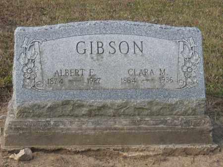 GIBSON, ALBERT E. - Union County, Ohio | ALBERT E. GIBSON - Ohio Gravestone Photos