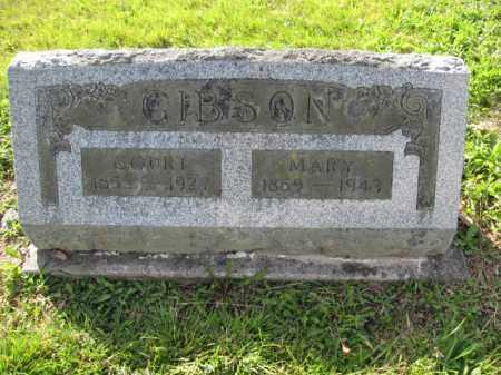 GIBSON, MARY BAKER - Union County, Ohio | MARY BAKER GIBSON - Ohio Gravestone Photos