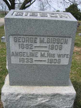 GIBSON, GEORGE M. - Union County, Ohio | GEORGE M. GIBSON - Ohio Gravestone Photos