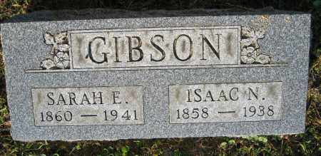 GIBSON, SARAH E. - Union County, Ohio | SARAH E. GIBSON - Ohio Gravestone Photos