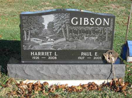 GIBSON, PAUL E. - Union County, Ohio | PAUL E. GIBSON - Ohio Gravestone Photos