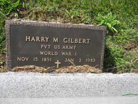 GILBERT, HARRY M. - Union County, Ohio | HARRY M. GILBERT - Ohio Gravestone Photos