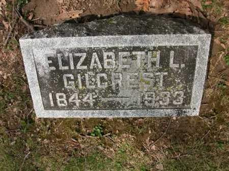 GILCREST, ELIZABETH L. - Union County, Ohio   ELIZABETH L. GILCREST - Ohio Gravestone Photos