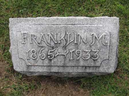 GILCREST, FRANKLIN M. - Union County, Ohio   FRANKLIN M. GILCREST - Ohio Gravestone Photos