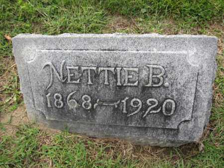 GILCREST, NETTIE BARBARIA NICOL - Union County, Ohio | NETTIE BARBARIA NICOL GILCREST - Ohio Gravestone Photos