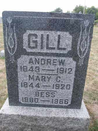 GILL, MARY C. - Union County, Ohio | MARY C. GILL - Ohio Gravestone Photos