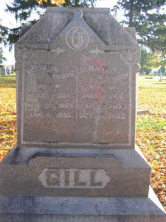 GILL, ELEANOR NORRIS - Union County, Ohio | ELEANOR NORRIS GILL - Ohio Gravestone Photos