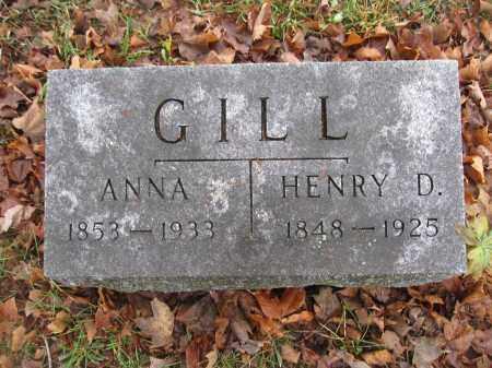 GILL, HENRY DORRETT - Union County, Ohio | HENRY DORRETT GILL - Ohio Gravestone Photos