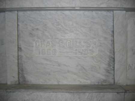 GILL, SR., CHARLES F. - Union County, Ohio   CHARLES F. GILL, SR. - Ohio Gravestone Photos