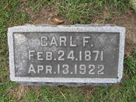 GILMAN, CARL F. - Union County, Ohio | CARL F. GILMAN - Ohio Gravestone Photos