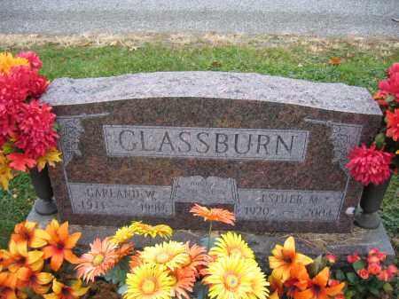 GLASSBURN, GARLAND W. - Union County, Ohio | GARLAND W. GLASSBURN - Ohio Gravestone Photos