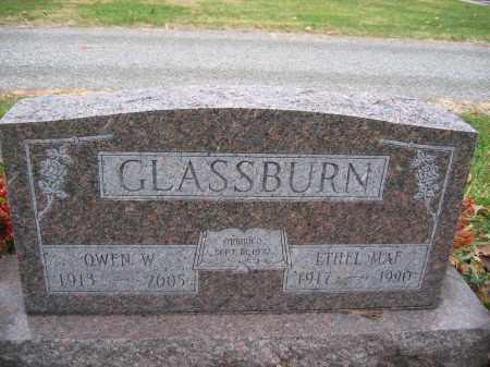 GLASSBURN, OWEN W. - Union County, Ohio | OWEN W. GLASSBURN - Ohio Gravestone Photos