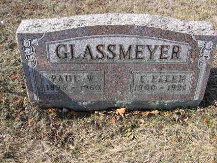 GLASSMEYER, PAUL W. - Union County, Ohio | PAUL W. GLASSMEYER - Ohio Gravestone Photos