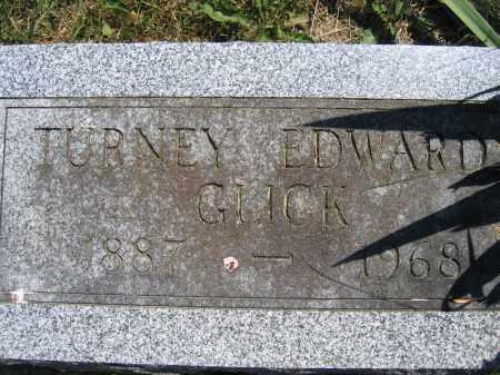 GLICK, TURNEY EDWARD - Union County, Ohio | TURNEY EDWARD GLICK - Ohio Gravestone Photos