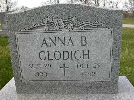 GLODICH, ANNA B. - Union County, Ohio | ANNA B. GLODICH - Ohio Gravestone Photos