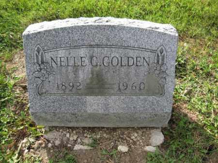 GOLDEN, NELLE C. - Union County, Ohio | NELLE C. GOLDEN - Ohio Gravestone Photos