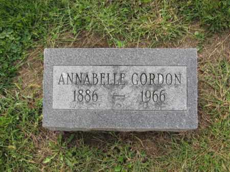 GORDON, ANNABELLE - Union County, Ohio | ANNABELLE GORDON - Ohio Gravestone Photos