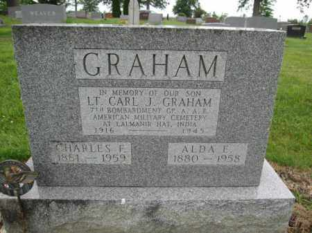 GRAHAM, CHARLES F. - Union County, Ohio | CHARLES F. GRAHAM - Ohio Gravestone Photos