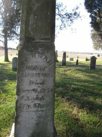 GRAHAM, HANNAH - Union County, Ohio | HANNAH GRAHAM - Ohio Gravestone Photos