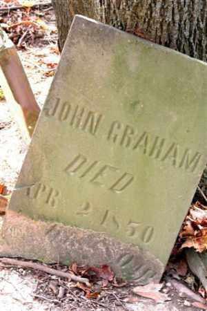 GRAHAM, JOHN - Union County, Ohio   JOHN GRAHAM - Ohio Gravestone Photos