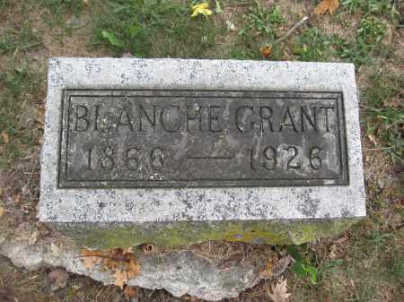 GRANT, BLANCHE - Union County, Ohio | BLANCHE GRANT - Ohio Gravestone Photos