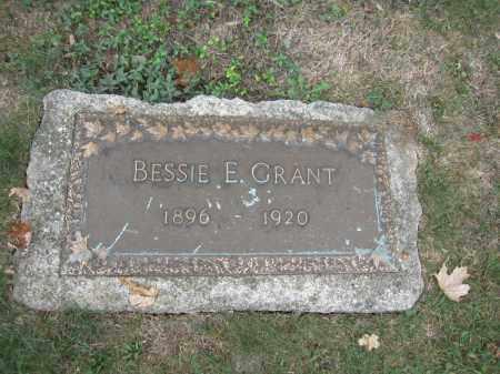 GRANT, BESSIE E. - Union County, Ohio   BESSIE E. GRANT - Ohio Gravestone Photos