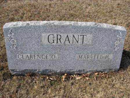 GRANT, MARVELL H. - Union County, Ohio | MARVELL H. GRANT - Ohio Gravestone Photos