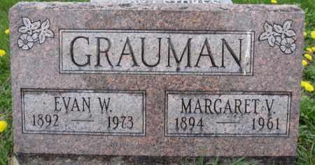 GRAUMAN, EVAN W. - Union County, Ohio | EVAN W. GRAUMAN - Ohio Gravestone Photos