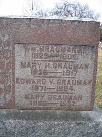 GRAUMAN, SR., WILLIAM - Union County, Ohio | WILLIAM GRAUMAN, SR. - Ohio Gravestone Photos