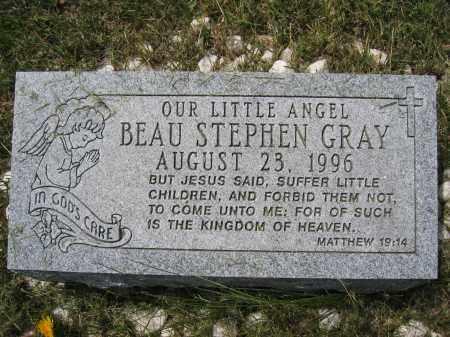 GRAY, BEAU STEPHEN - Union County, Ohio | BEAU STEPHEN GRAY - Ohio Gravestone Photos
