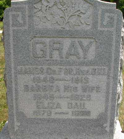 GRAY, JAMES - Union County, Ohio | JAMES GRAY - Ohio Gravestone Photos