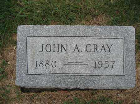 GRAY, JOHN A. - Union County, Ohio   JOHN A. GRAY - Ohio Gravestone Photos