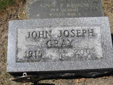 GRAY, JOHN JOSEPH - Union County, Ohio | JOHN JOSEPH GRAY - Ohio Gravestone Photos