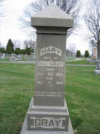 GRAY, MARY - Union County, Ohio   MARY GRAY - Ohio Gravestone Photos