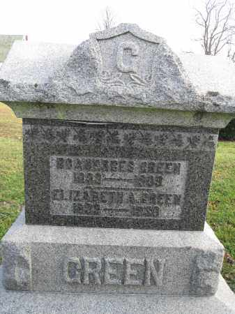 GREEN, ELIZABETH - Union County, Ohio | ELIZABETH GREEN - Ohio Gravestone Photos
