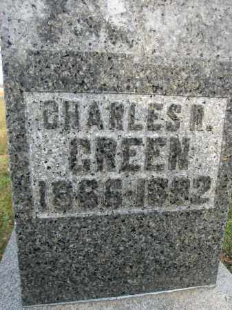 GREEN, CHARLES R. - Union County, Ohio | CHARLES R. GREEN - Ohio Gravestone Photos