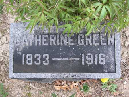 GREEN, CATHERINE - Union County, Ohio | CATHERINE GREEN - Ohio Gravestone Photos