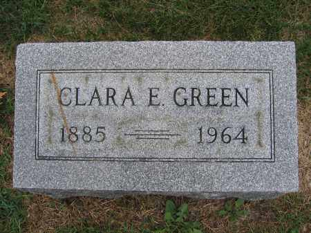 GREEN, CLARA E. - Union County, Ohio | CLARA E. GREEN - Ohio Gravestone Photos