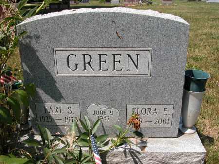 GREEN, FLORA E. - Union County, Ohio | FLORA E. GREEN - Ohio Gravestone Photos